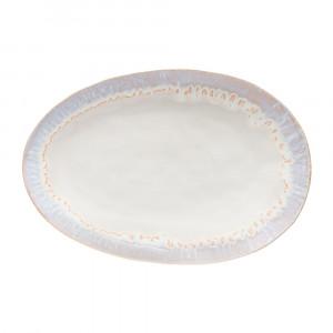 Brisa Platte flach oval 41 x 28.3 cm sand