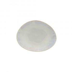 Brisa Teller flach oval 20.3 x 15.8 cm sand