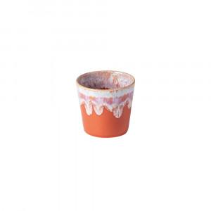 Grespresso Becher für Espresso sunset red