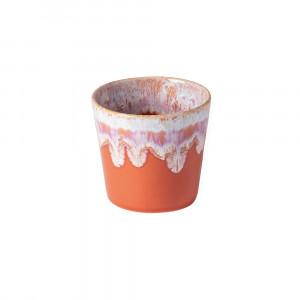 Grespresso Becher für Kaffee sunset red