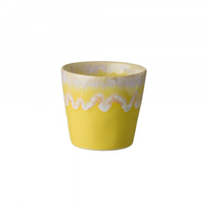 Grespresso Becher für Kaffee gelb