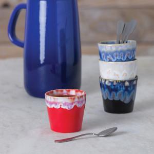 Grespresso Becher für Kaffee rot