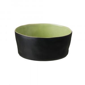 Riviera Schüssel 24.2 cm schwarz-hellgrün
