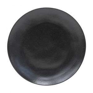Riviera Teller flach ø 27 cm sable noir