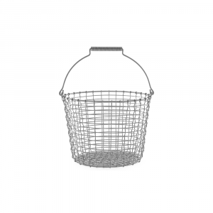 Korbo Bucket 16 L, ø 32 cm, Drahteimer aus Edelstahl