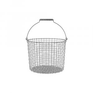 Korbo Bucket 20 L, ø 32 cm, Drahteimer aus Edelstahl