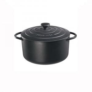 Bratentopf rund mit Gussdeckel ø 22 cm Küchenprofi