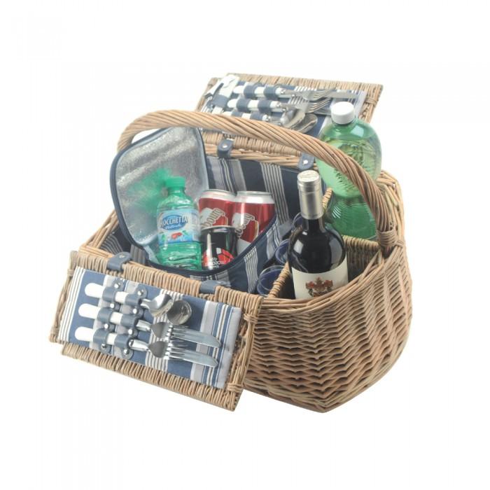 picknickkorb deauville f r 4 personen. Black Bedroom Furniture Sets. Home Design Ideas