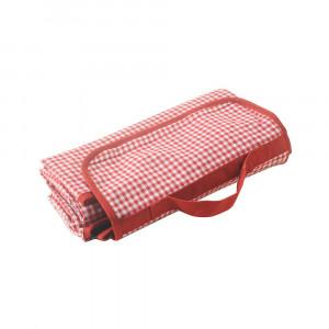 Picknickdecke Vichy rot