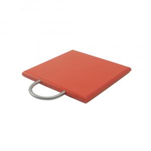 Schneideplatte rot L 19 cm