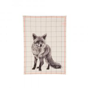 Küchentuch Grid Fox, present time