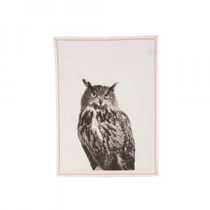 Küchentuch Grid Owl, present time