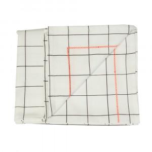 Tischdecke Grid mit Neon Faden 140 x 220 cm, present time