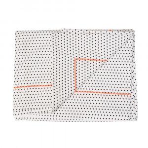 Tischdecke Dotty mit Neon Faden 140 x 220 cm, present time