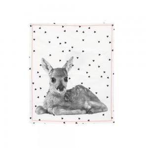 Küchentuch Grid Hearts Deer, present time