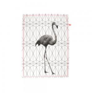 Küchentuch Grid Flamingo, present time