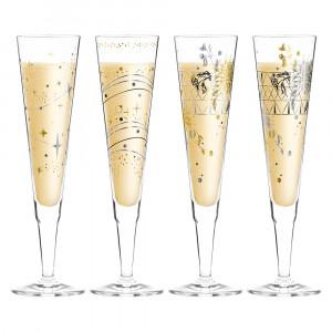 Champagnerglas 4er Set Ritzenhoff