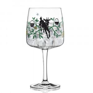 Gin Glas Karin Rytter 2020, Ziege, Ritzenhoff