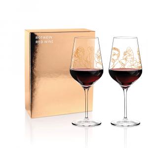 Rotweinglas 2erSet Burkhard Neie 2020 Ritzenhoff