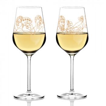 Weissweinglas 2erSet Burkhard Neie 2020 Ritzenhoff