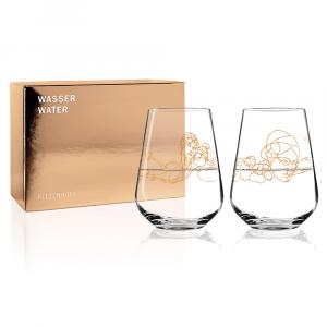 Wasserglas 2erSet Burkhard Neie 2020 Ritzenhoff