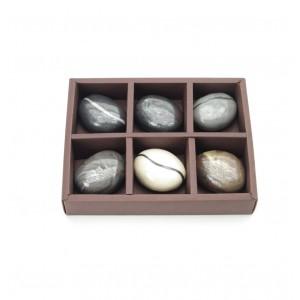 Seife in Steinoptik - Stonesoap 6er Set 6 x 40 gr
